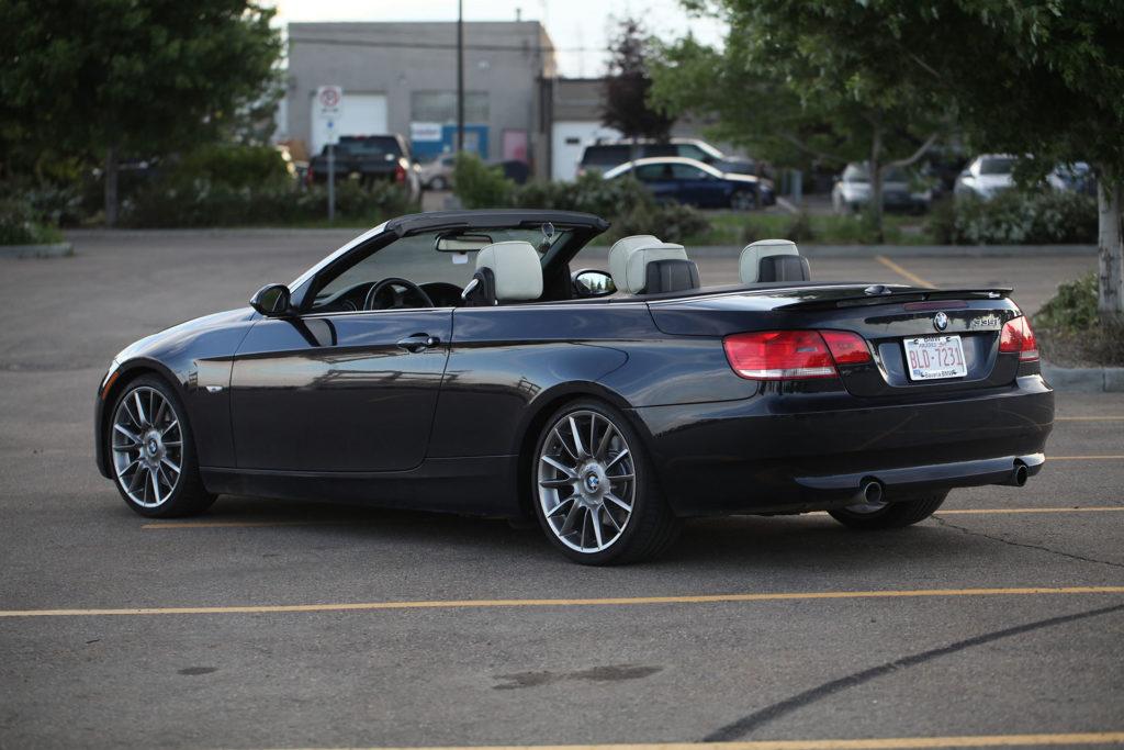 2008 BMW 335i Special Edition (N54) E93 E2 E90