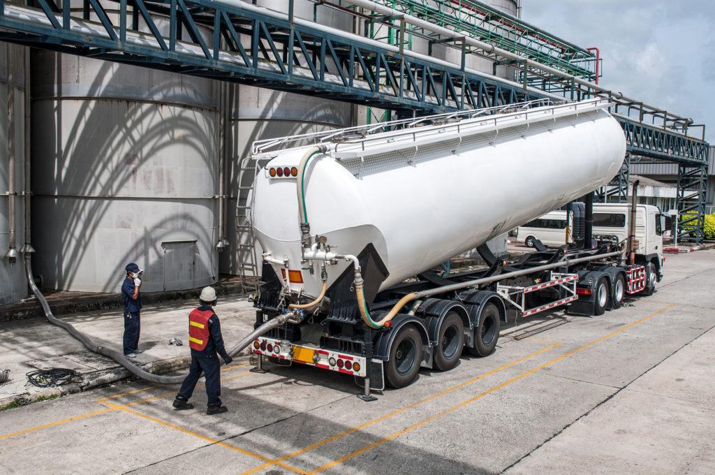 Tanker Truck, Class 1 Oilfield Trucking in Alberta